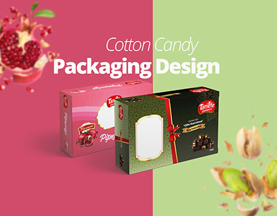 Cotton Candy Packaging Design