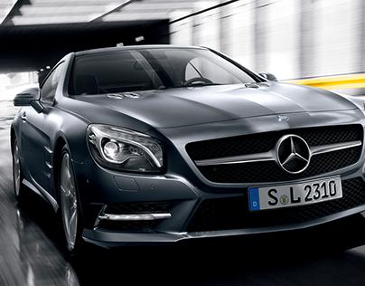 Mercedes Benz- The SL Sting