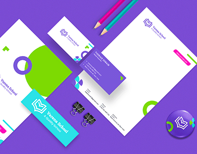 Varena School Brand Design