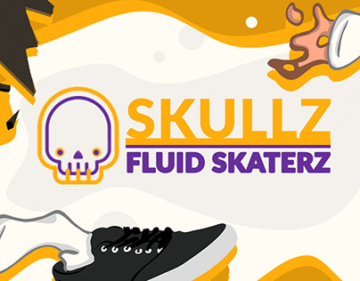 Skullz SkaterZ - Fluid illustration