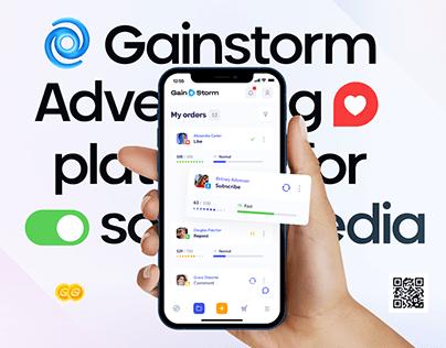 GAINSTORM® — Advertising Platform