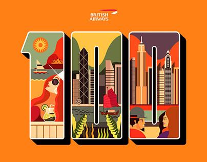 British Airways Postcards