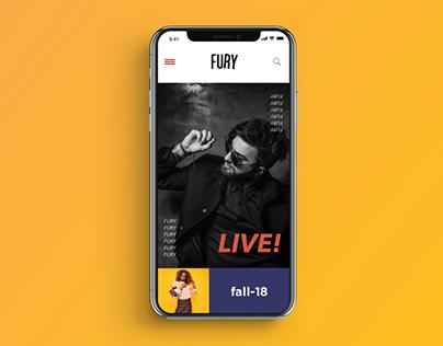 FURY app. (Freebie)
