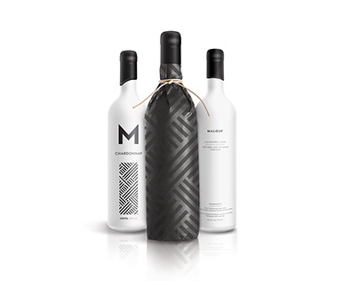 Malouf Wine Packaging