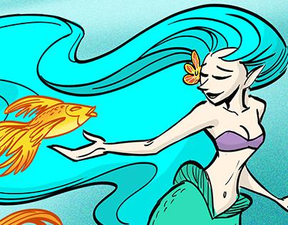 The Mermaid & the Goldfish