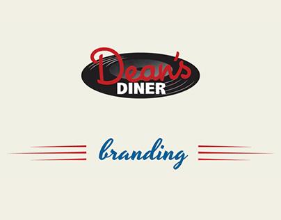 Dean's Diner Branding