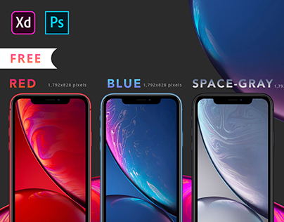 iPhone Xr Mock-up's Part-1