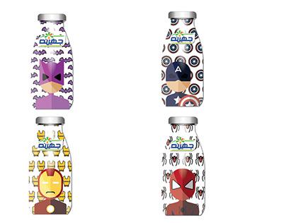Juhanyna new bottles concept (2017)