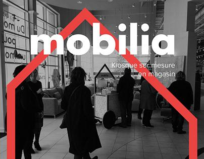 Mobilia - Kiosque en magasin