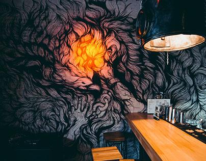 Prometeus / Mural art