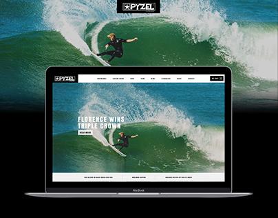 Pyzel Surfboards Website