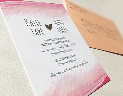 Lopes Wedding Invitation