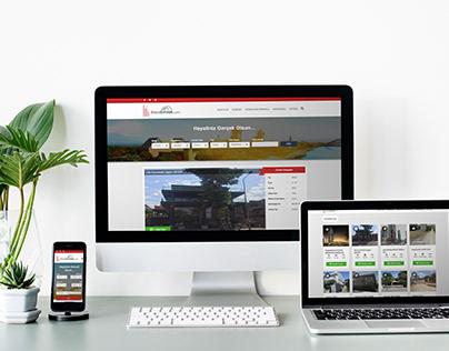BisatEmlak Web Design