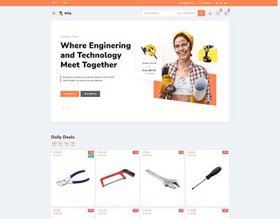 Teta - WooCommerce WordPress theme - Tools shop