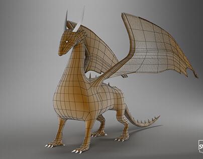 Deragon 3D Model