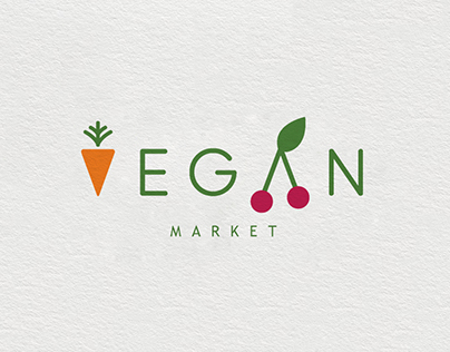 Vegan Market - Logo Concept