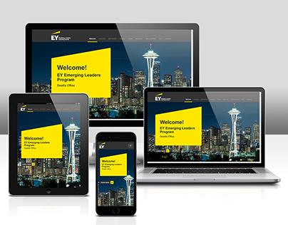 Responsive HTML5 Parallax Website
