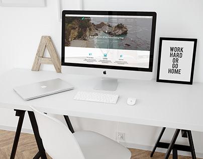 Design website of tourist agency