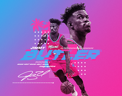 Jimmy Butler Miami Heat Graphic [Personal]