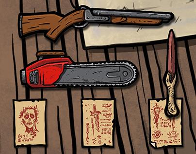 Ash vs Evil Dead Printable Cabin