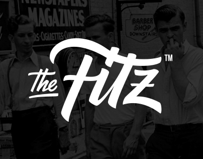 The Fitzgerald Burger Company. Global identity.