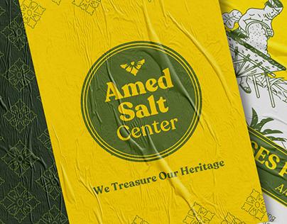 Amed Salt Center Brand Identity