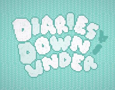 Diaries Downunder - Winter 2012