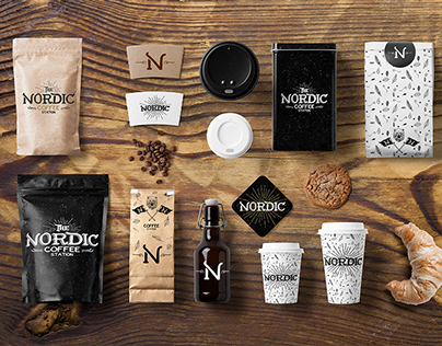 Nordic ' Coffee Station | Branding