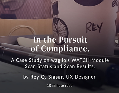 UX Case Study on B2B Compliance System.