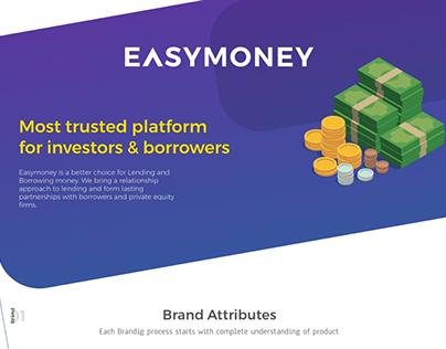 EASYMONEY - UX/UI for a Fintech