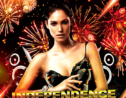 Independence Day FREE Flyer PSD Template