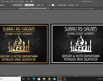 DESIGN STICKER FOR SIGNAGE WITH ARCYLIC