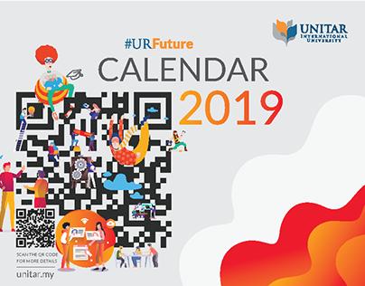 UNITAR University 2019 Table Calendar