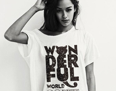 Estampa - Wonderful World
