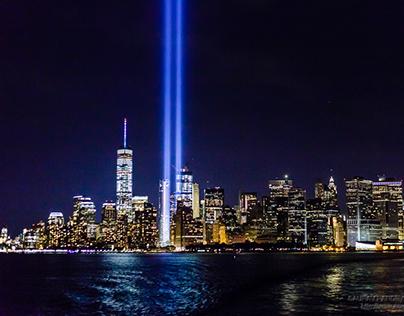 Tribute of Light, September 11, 2016