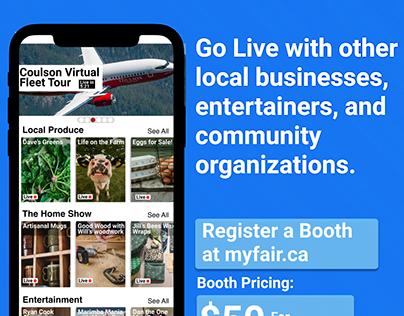 MyFair: Virtual Fairs in a Few Clicks