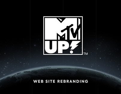 MTV UP Web Site Rebranding