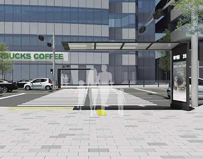 Pedestrian crossing safety facilities人行横道安全设施