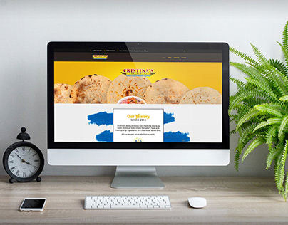 Web Design: Salvadorian Food Restaurant