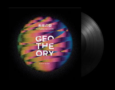 Geotheory, Futuristic Love — Vinyl Album Cover