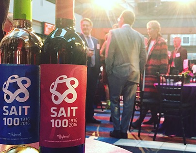 SAIT Centennial Wine