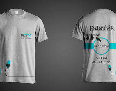T-Shirt - Festember Media Relations Team NIT Trichy