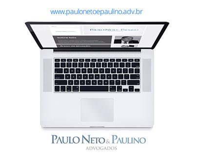 Paulo Neto & Paulino Advogados [ SITE RESPONSIVO ]
