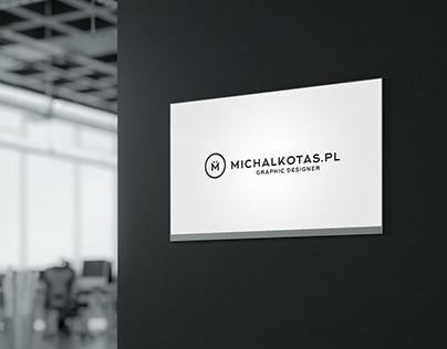 michalkotas.pl freelancer portfolio branding concept