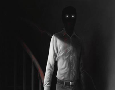 """""""Shock"""" - mock horror anthology book cover"""