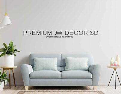 PREMIUM DECOR SD - LOGOTIPO Y WEB