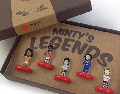 Minty's Legends - Players Set Packaging