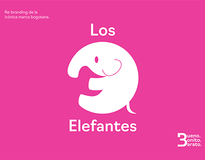 Rebranding - Los 3 Elefantes