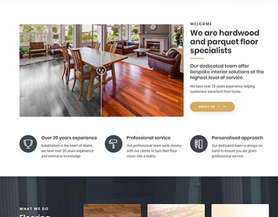 Web Design - Flooring The Competition