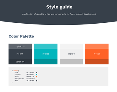 Style Guide (Free template)